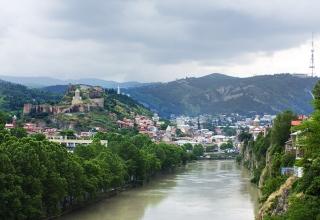 Tbilisi Georgia — View of Tbilisi 320x220 - 8 دلیل عالی برای بازدید از تفلیس ، گرجستان | Tbilisi