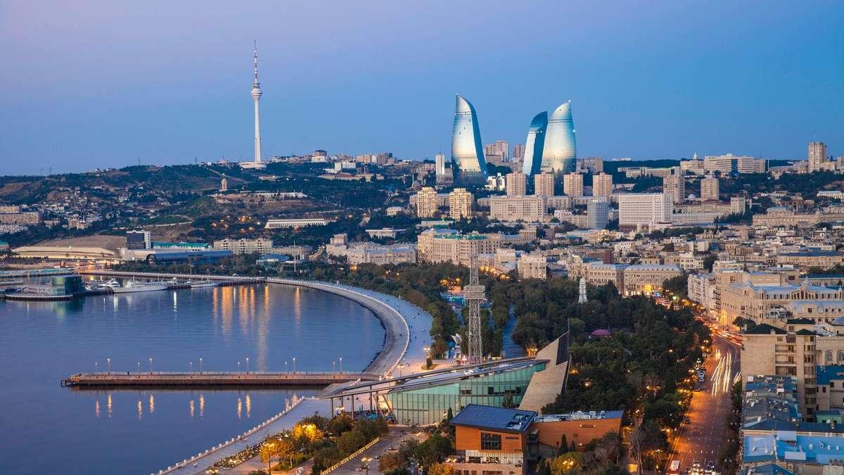 image - برج تلویزیون باکو ، آذربایجان   Baku