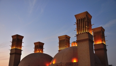 384x220 - آب انبار شش بادگیر یزد | Yazd