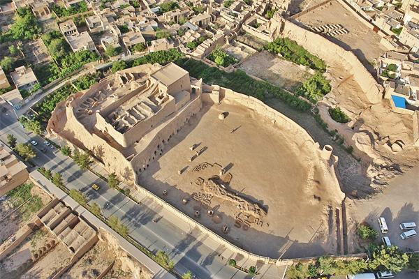 قلعه هوایی Copy 1 - نارین قلعه میبد ، یزد | Meybod