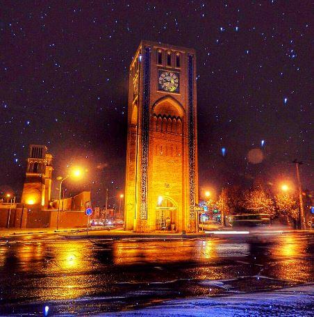 1 3 - میدان وقت و ساعت یزد   Yazd