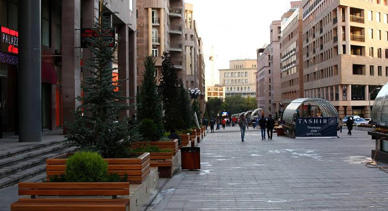 خیابان شمالی ایروان