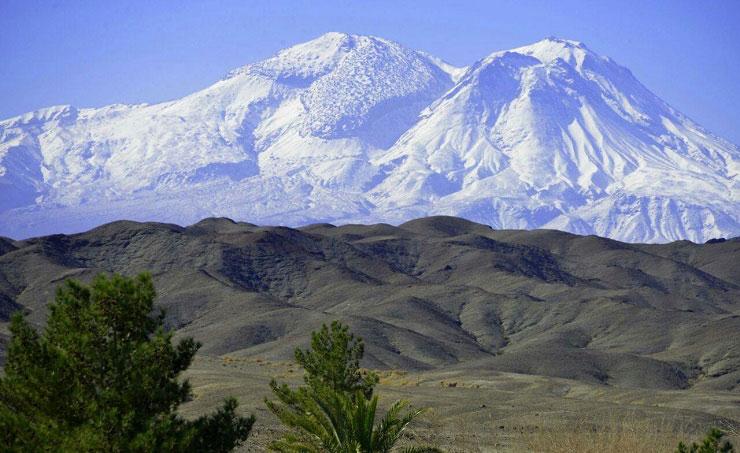 6154 - کوه تفتان ، آتشفشان نیمه خاموش در سیستان و بلوچستان | Taftan