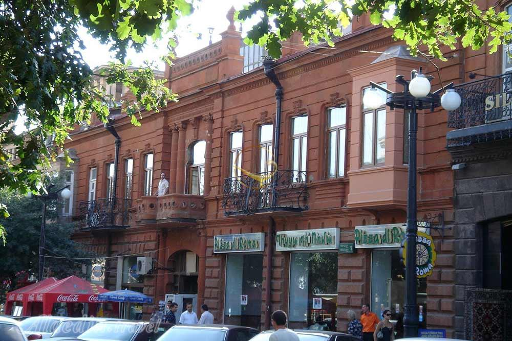 Alaedin Travel Agency Attractions Armenia Yerevan Abovyan Street 6 - خیابان آبوویان ایروان ، ارمنستان | Yerevan