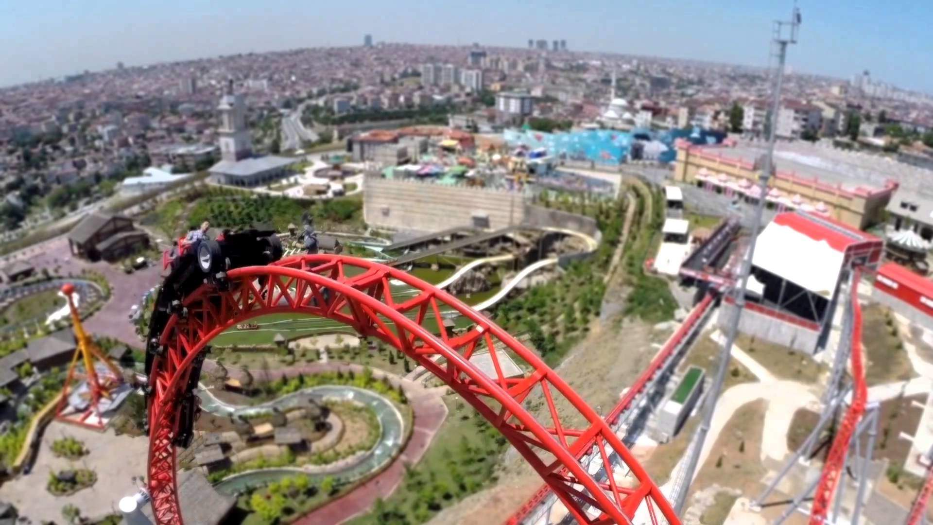 Isfanbul Vialand Theme Park - شهربازی ویالند استانبول ، ترکیه | Istanbul