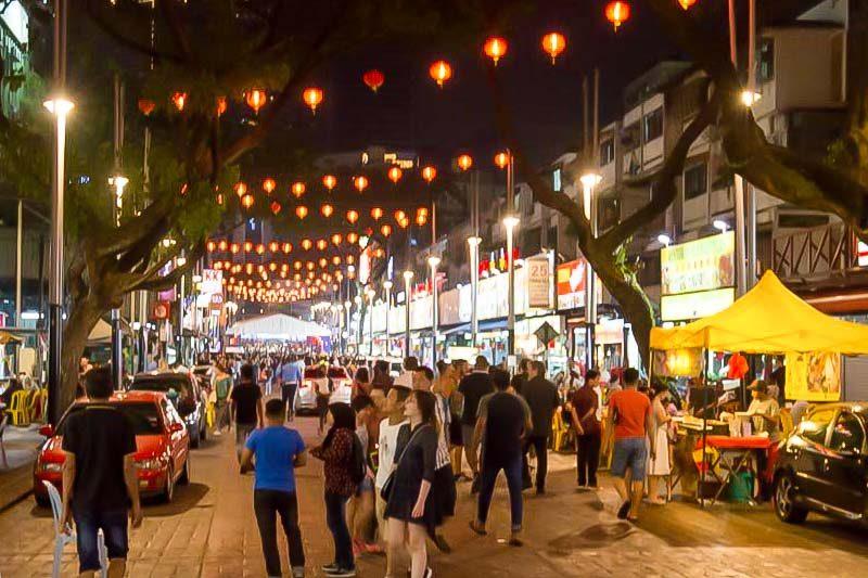 خیابان جالان آلور کوالالامپور