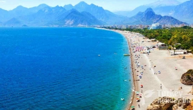 Lara Beach 1 384x220 - منطقه لارا آنتالیا ، ترکیه | Lara