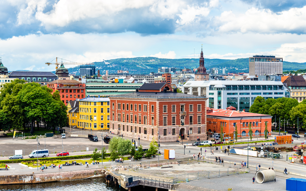 View of the city centre of Oslo Norway  481940998 - بهترین کشورها برای مهاجرت کدامند ؟