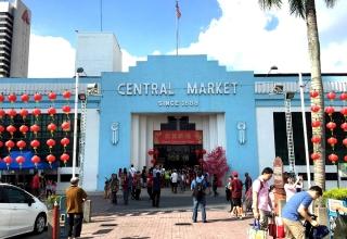 art deco central market in Kuala Lumpur 1 320x220 - بازار مرکزی کوالالامپور ، مالزی | Kuala Lumpur