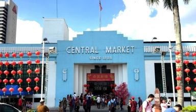 art deco central market in Kuala Lumpur 1 384x220 - بازار مرکزی کوالالامپور ، مالزی | Kuala Lumpur