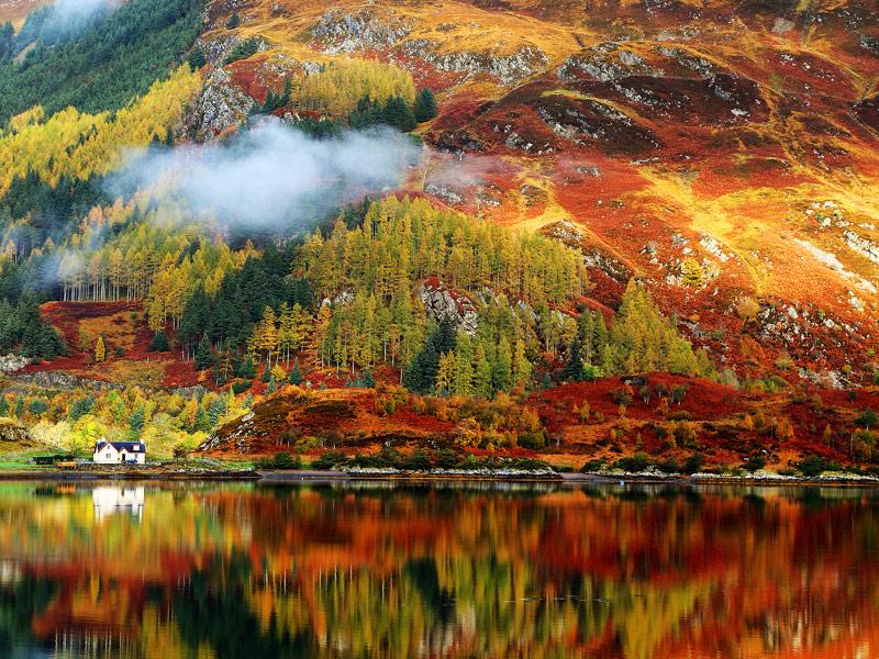 Scottish Highlands Scotlan - بهترین شهرهای اروپا برای سفر در پاییز (قسمت ۲) | Europe