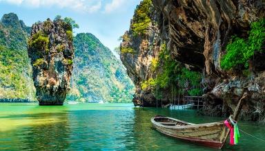 jamesbond 15 384x220 - جاذبه های دیدنی و گردشگری تایلند (قسمت ۲)   Thailand