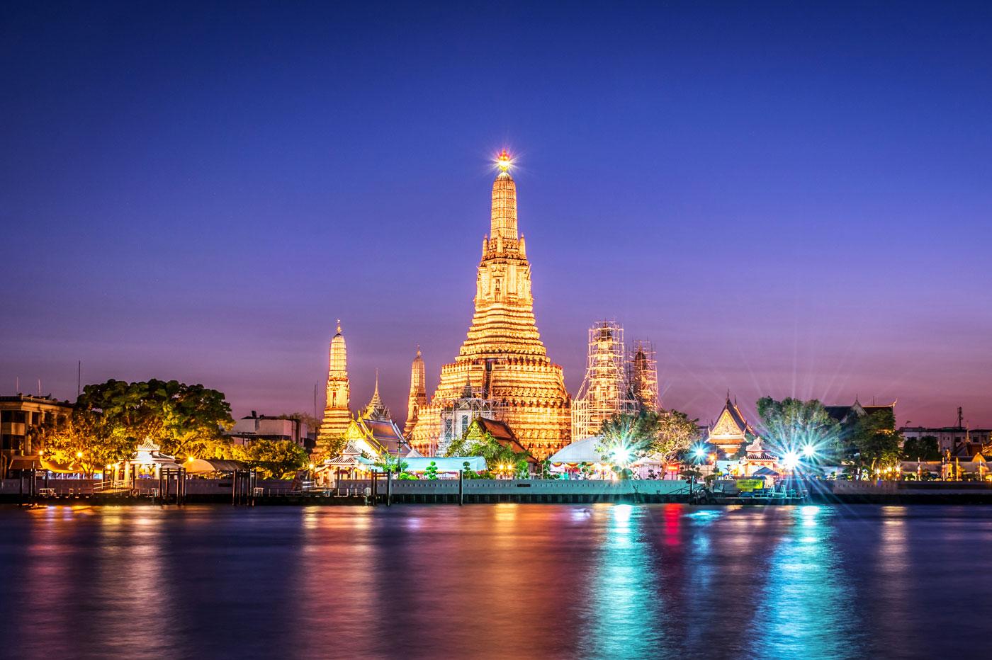 wat arun in bangkok - جاذبه های دیدنی و گردشگری تایلند (قسمت ۱) | Thailand