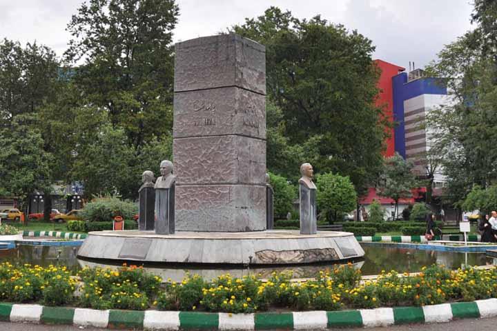میدان رشت - جاهای دیدنی شهر زیبای رشت ، گیلان | Rasht