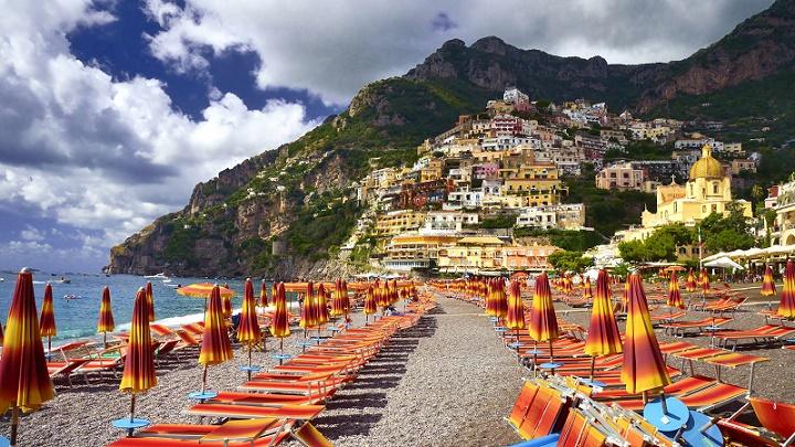 2 1 - ساحل آمالفی ایتالیا ، از زیباترین سواحل مدیترانه   Italy