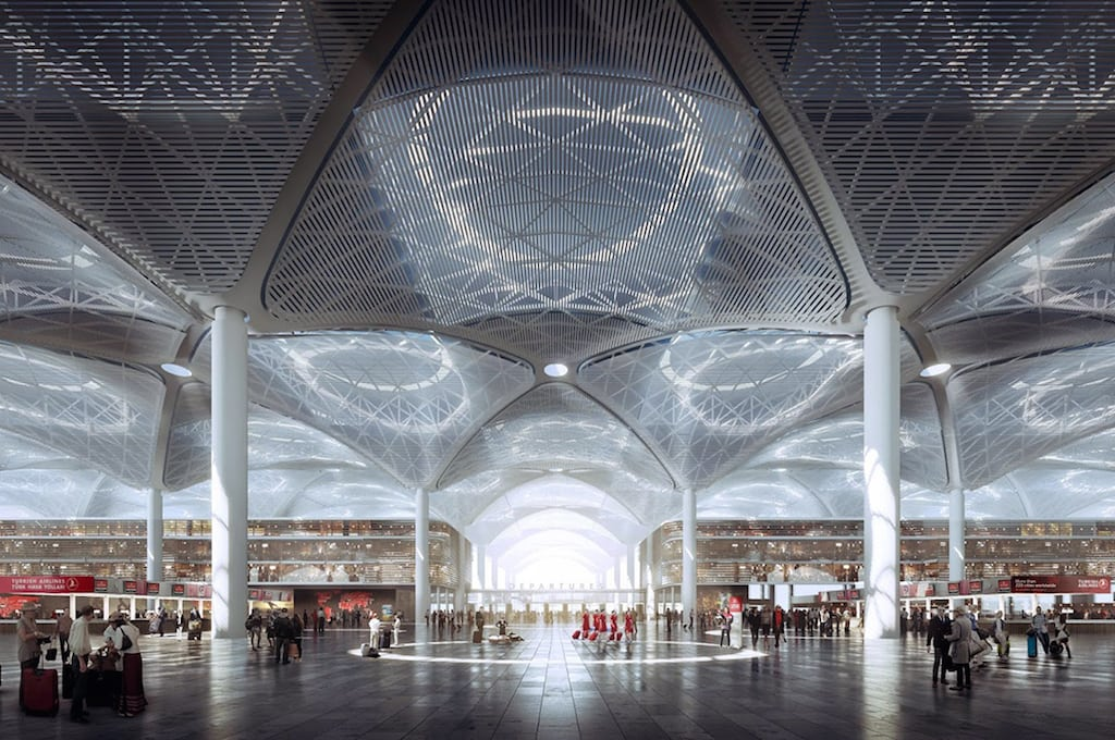Istanbul Grand Airport 2 - فرودگاه جدید استانبول ، ترکیه   Istanbul Airport