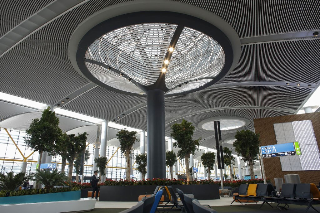 Istanbul New Airport photo 1024x683 - فرودگاه جدید استانبول ، ترکیه   Istanbul Airport