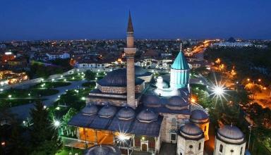 places visit konya turkey 1 384x220 - آرامگاه مولانا در قونیه ، شاعر نامدار ایرانی | Konya