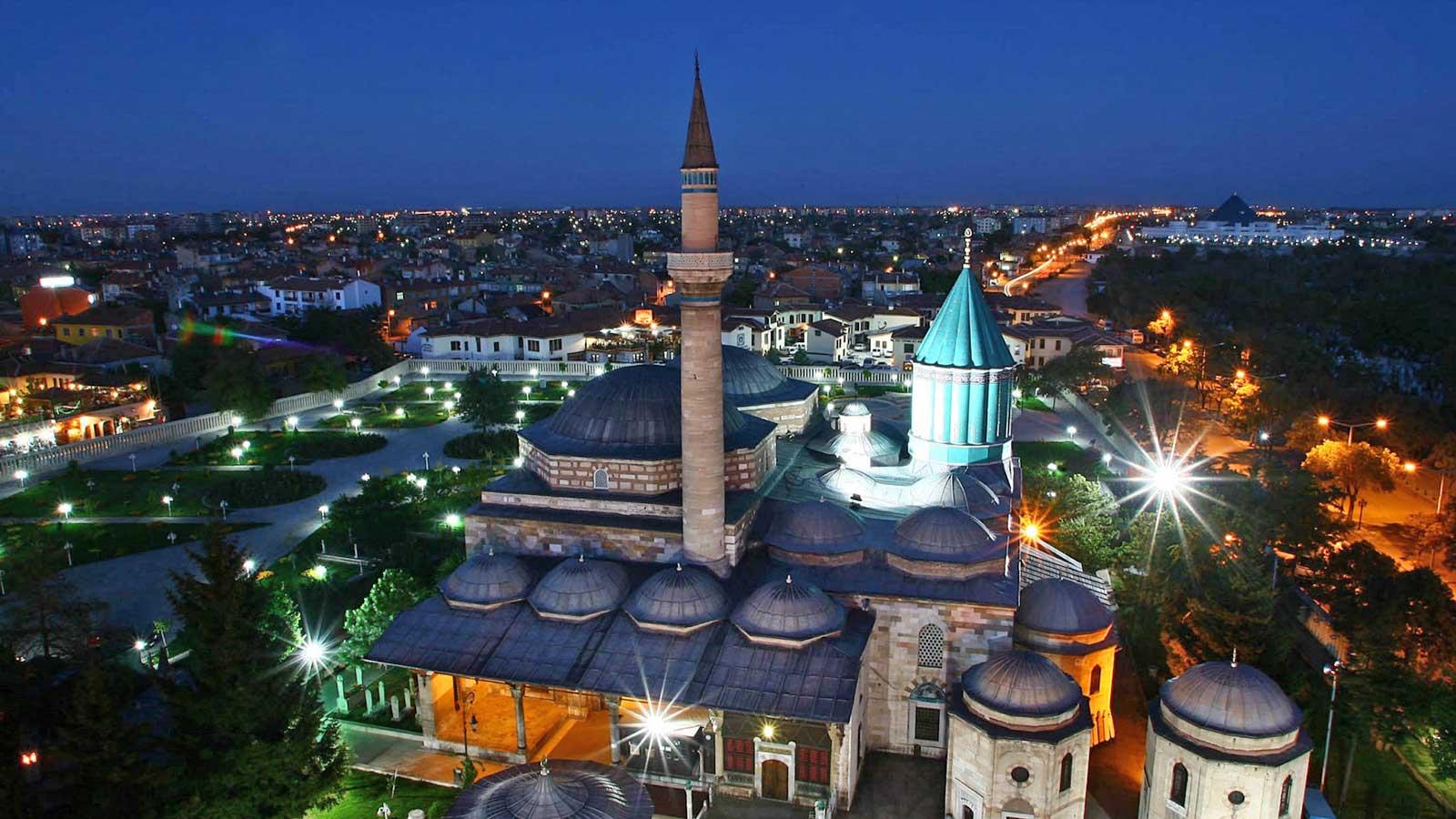 places visit konya turkey - راهنمای سفر به قونیه ، شهر عشق و عرفان | Konya