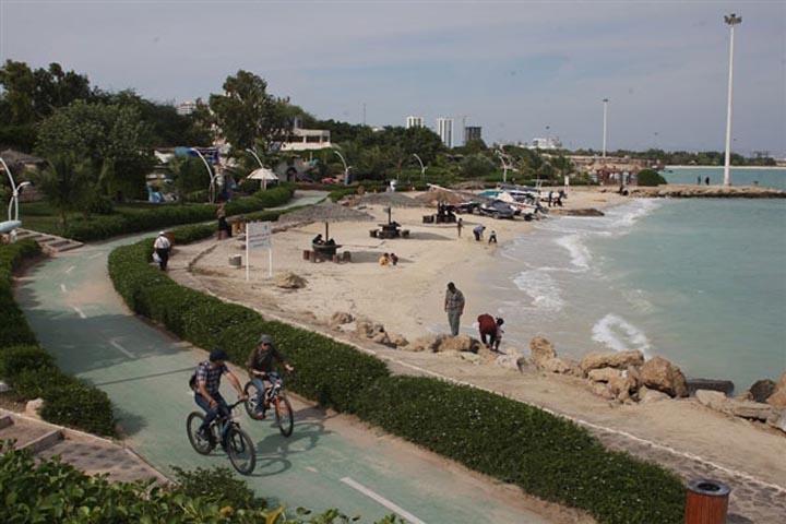 سواری در کیش فتوشاپ4 - اسکله تفریحی کیش | Kish