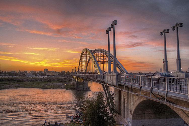 12 - پل سفید اهواز ، نخستین پل معلق در ایران | Ahvaz