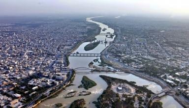 44048 613 384x220 - رود كارون اهواز ، پرآبترین و بزرگترین رودخانه ایران | Ahvaz