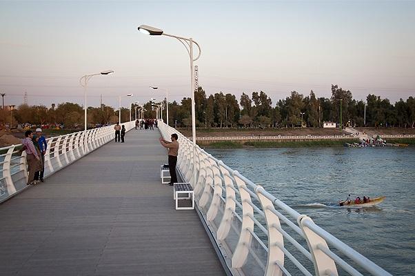 پل طبیعت اهواز