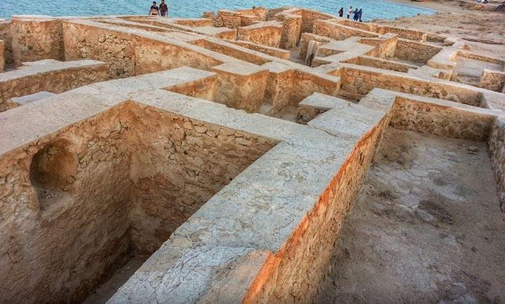 Untitled 1 17 - شهر باستانی حریره در جزیره کیش   Kish