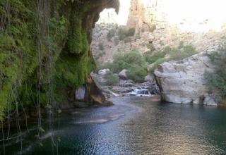 2403215 320x220 - رودخانه چشمه عروس در رابر ، استان کرمان | Rābor