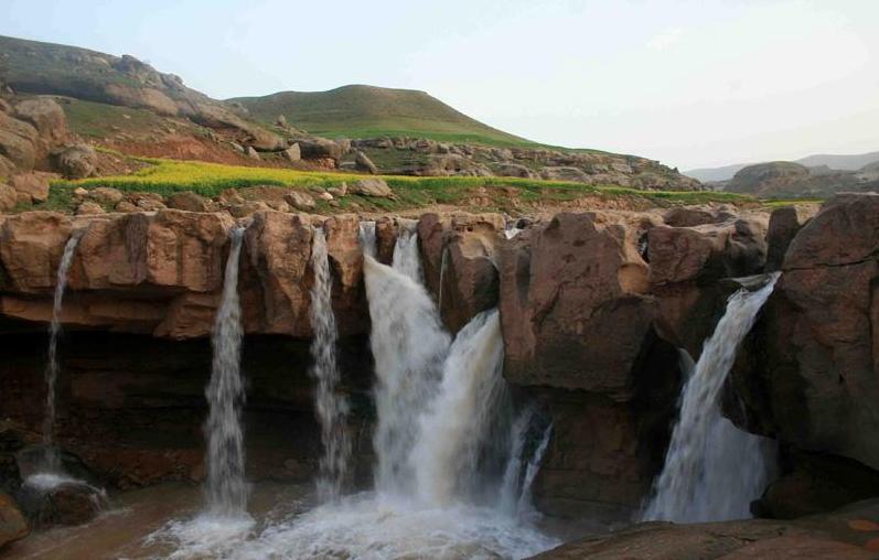 آبشار افرینه پلدختر