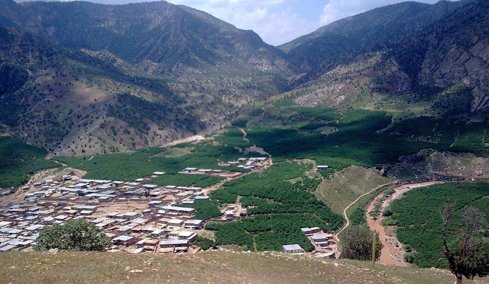 روستای بن لار پلدختر
