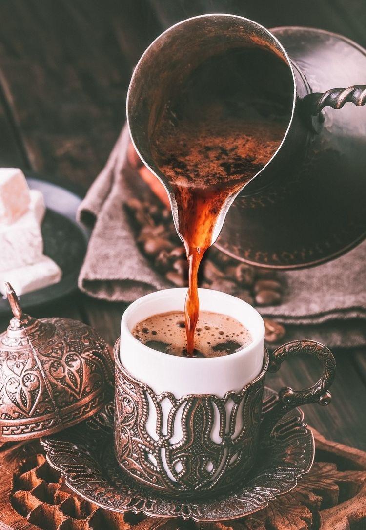 تاریخچه قهوه ترک