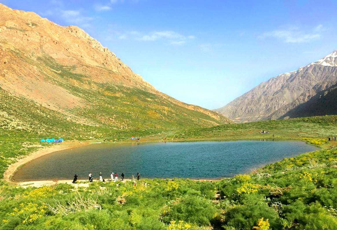 دریاچه کوه گل سی سخت
