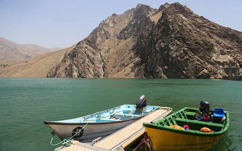 دریاچه سد امیرکبیر