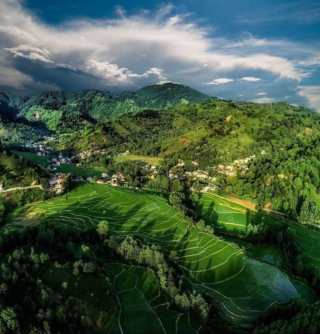 روستای زمیدان لاهیجان