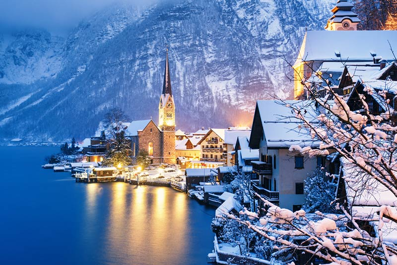 دهکده هالشتات اتریش