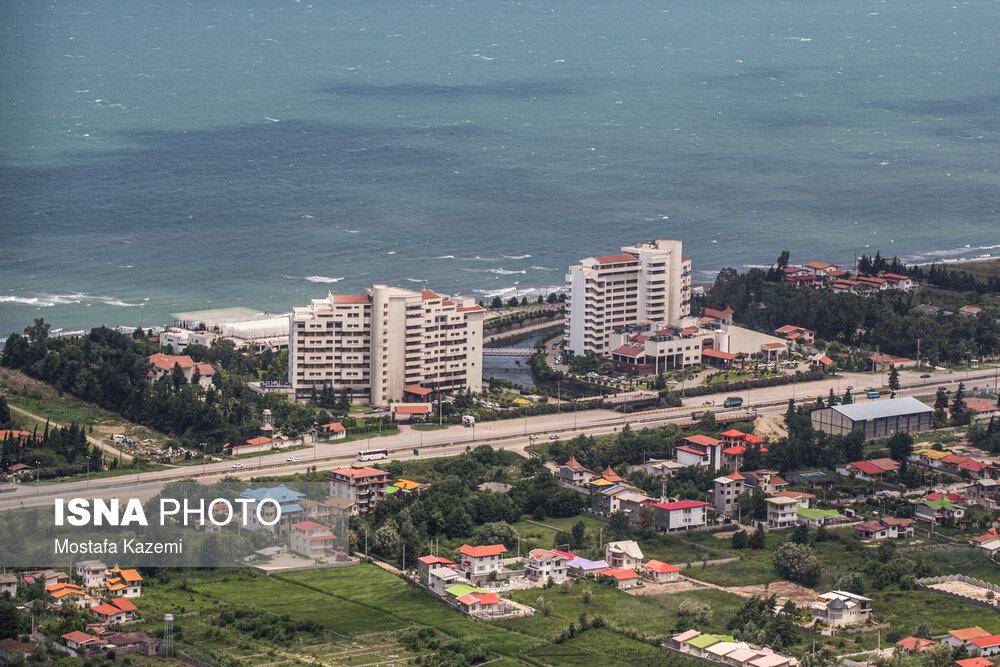 ساحل دریای خزر - چالوس