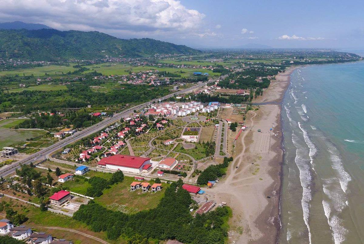ساحل دریای خزر - چابکسر