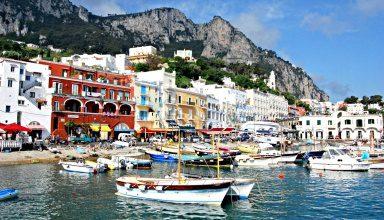 جزیره کاپری در ایتالیا