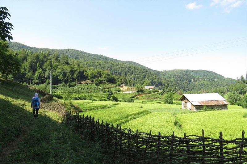 روستای دیورش - عکس از: لست سکند