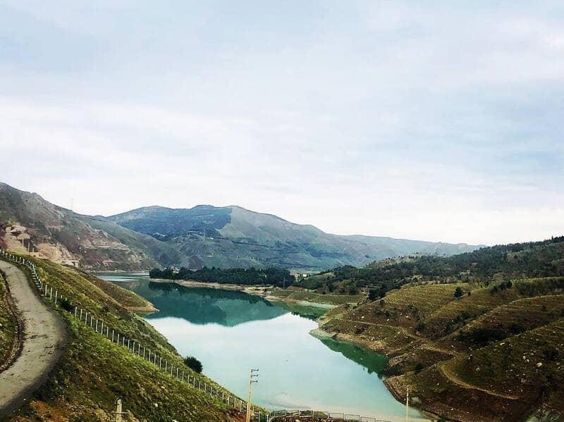 دریاچه سد لتیان - عکس از امیرحسین گودرزی