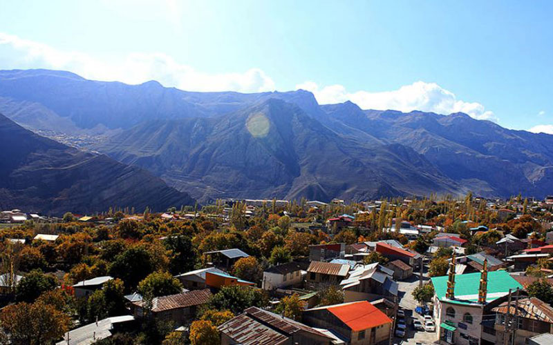 آب گرم لاریجان - عکس از نابرو