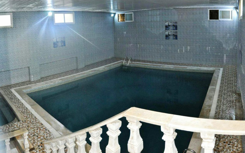 آب گرم لاریجان