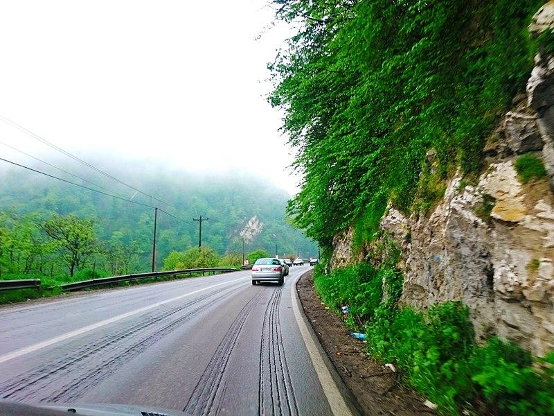 جاده هراز - Photo: Ali Safdarian
