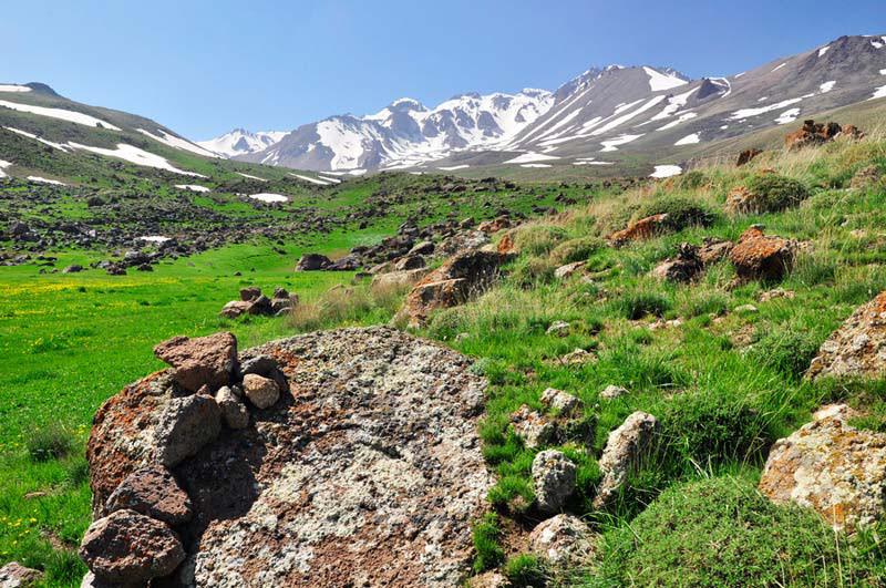 کوه سبلان - عکس از: خبرگزاری میزان (عکاس: محمد خادم الشیخ)