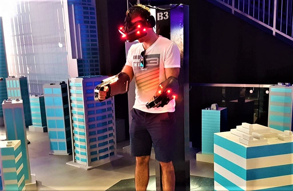 پارک واقعیت مجازی دبی