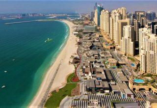 ساحل JBR دبی