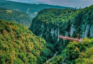 دره اوکاتسه گرجستان